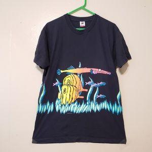Vtg american fish shirt